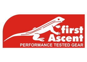 First Ascent Performance Tested Gear Logo Image